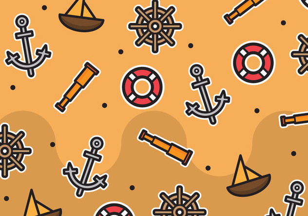 Free Nautica Pattern #3 - Free vector #274159
