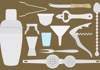 Vector Bar Tools - бесплатный vector #274339