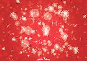 Bokeh Glitter Background Illustration - Free vector #274359