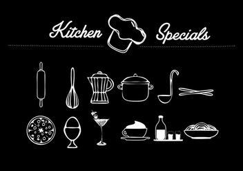 Kitchen Vector object - vector #274459 gratis