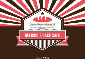 Bake Sale Illustration - Free vector #274679