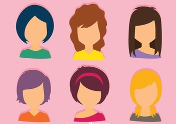 Female Default Avatar - Free vector #274729