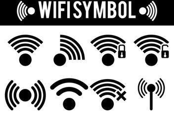 Wifi Symbol Vectors - Free vector #274749