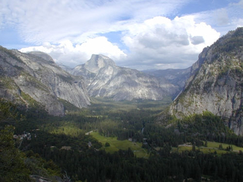 Half Dome from Columbia Point - image gratuit #275849
