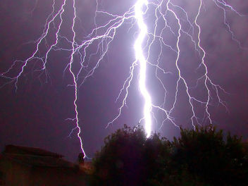 CG lightning strike - image gratuit #276149