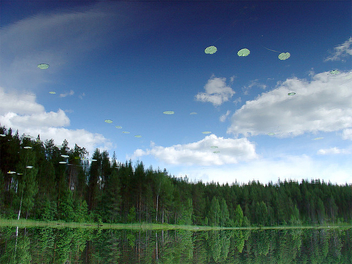 UFO fleet - Free image #276799