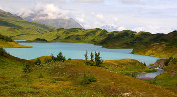 Lost Lake, near Seward, Alaska, - бесплатный image #280379