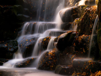 Waterfall at Virginia Water - бесплатный image #280609
