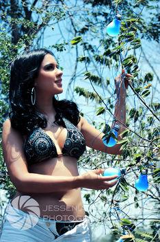 Shirley con el Bombillo azul - image gratuit(e) #284549