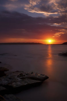 Sunset over La Perouse - image #284919 gratis