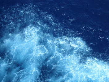 Blue Water Texture - Free image #285219