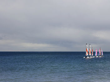 Sailing Boats On The Horizon - image #286929 gratis