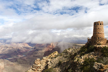 Desert Tower in Grand Canyon - бесплатный image #291039