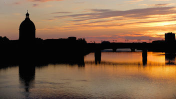 Burning Sunset - Toulouse - image gratuit #291839