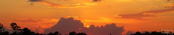 Golden sky (panoramic) - Free image #291869