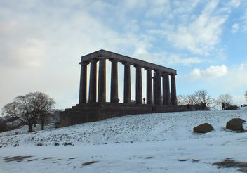 Scottish National Monument - Free image #293129