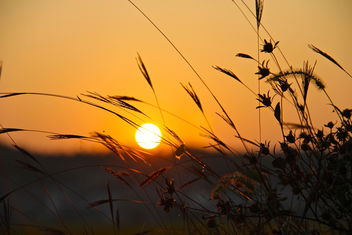 Sunset in a village - image gratuit #294219