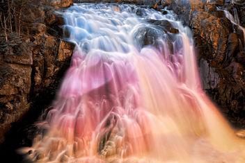 Vibrant Bokeh Falls - Free image #295219