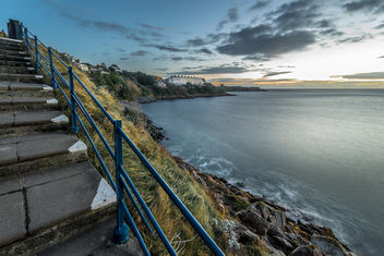 Sorrento Terrace from Hawk Cliff, Killiney, Co. Dublin, Ireland - Free image #295749