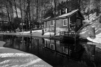 Streamside Cottage - image gratuit #296599