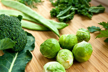 green fresh organic vegetables - image #297079 gratis