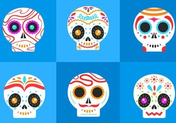 Dia De Los Muertos - Free vector #297759