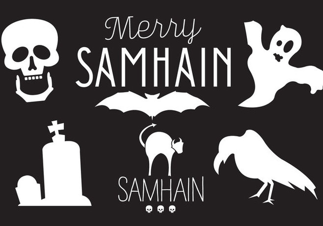 Samhain Vector Illustrations - Free vector #297779