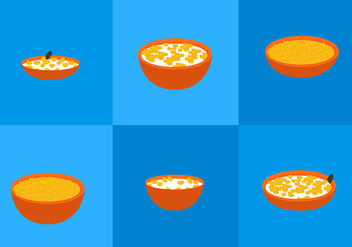 Corn Flakes - vector gratuit #297789