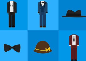 Old Style Clothes - vector #297799 gratis