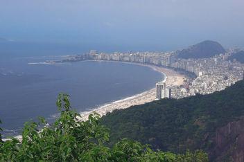 Brazil (Rio de Janeiro) Copacabana Beach view from Sugarloaf mountain - бесплатный image #300169