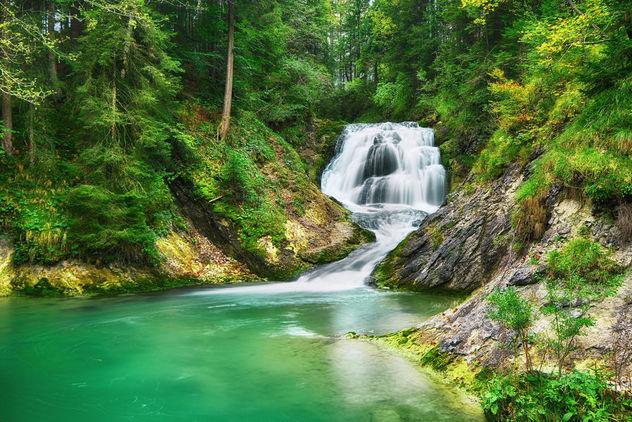 Hidden Waterfall - Kostenloses image #301289