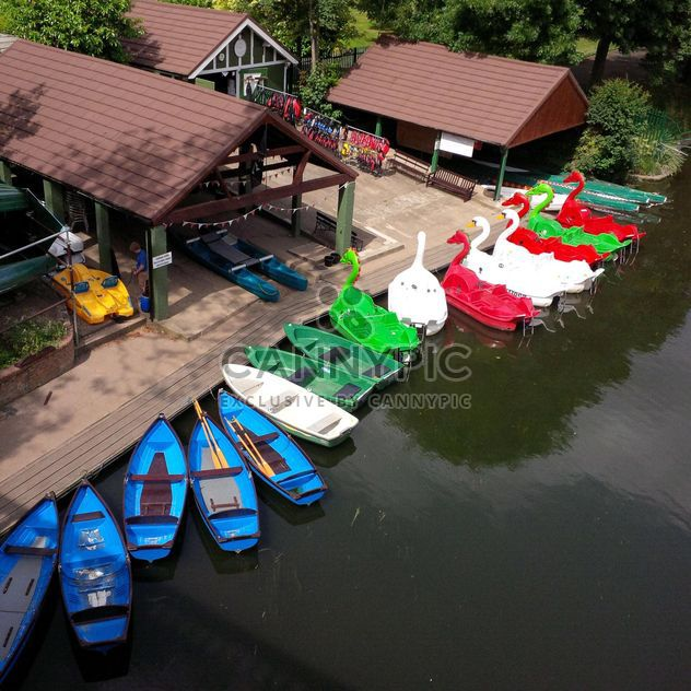 Boats for hire at a boathouse on the river Avon - Free image #301639