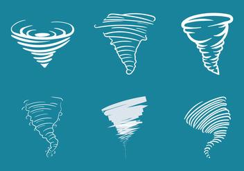 Free Tornado Vector Illustration - Free vector #301779