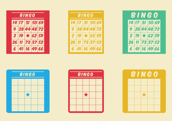Free Bingo Card Vector Icon - Free vector #302199