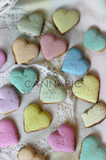 biscuits coeur - image gratuit #302409