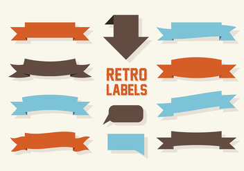 Free Labels Vector Collection - бесплатный vector #302719