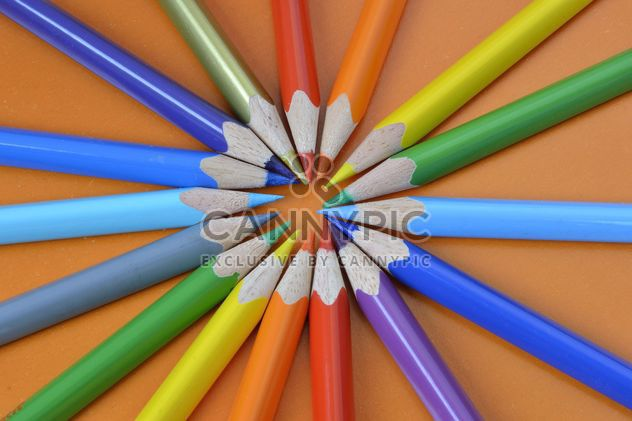 Coloured pencils - Free image #302829