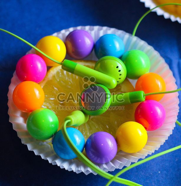 Glittered lemon slice - Free image #302839