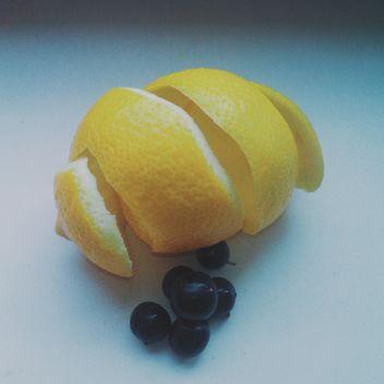 Lemon peel - image gratuit #302889