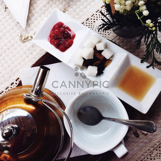 Tea drinking - Free image #302909