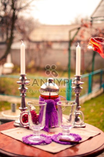 теплый чай с корицей - бесплатный image #302949