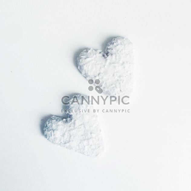 Coockies de coração branco - Free image #303249