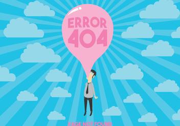 404 Error Vector - Kostenloses vector #303389