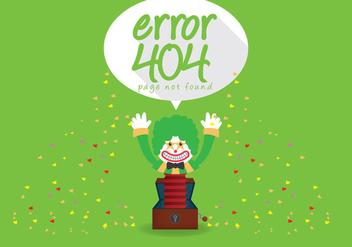 404 Error Vector - Kostenloses vector #303469