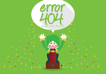 404 Error Vector - Free vector #303469