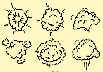 Dust Cloud Explosion - vector gratuit #303539