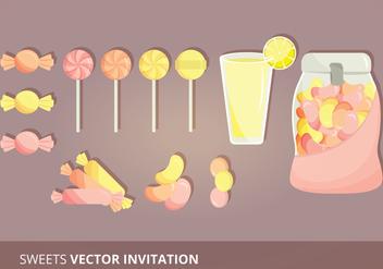 Candy Set Vectors - Free vector #303829