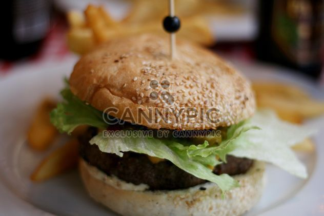 hamburguesa sabrosa - image #304139 gratis