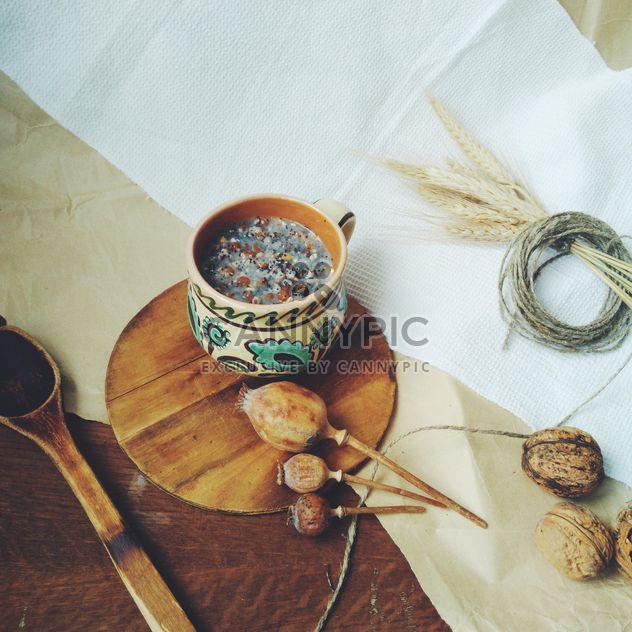 Kutia de Noël décorée avec du blé - image gratuit #304729