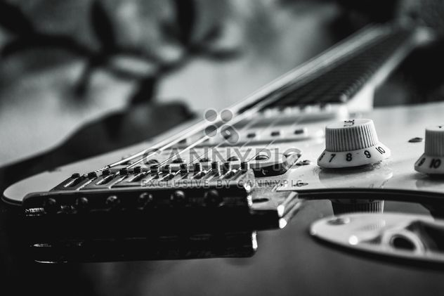 Detail of electric guitar - Free image #304789